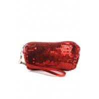 Spoločenská malá kabelka flitrová 17x10x3cm