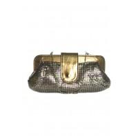 Spoločenská kabelka s flitrami a prackou na zapínanie