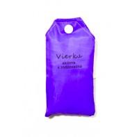 Nákupná taška s menom VIERKA - aktívna a zodpovedná
