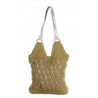 Letná taška z prírodného materiálu