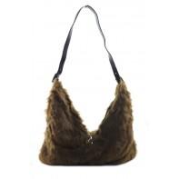 Dámska kabelka - kožušinová