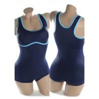Plavky dámske - plavecké pasik