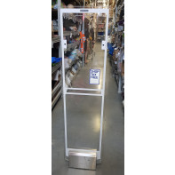Elektronická detekčná brána dvojitá sklenená