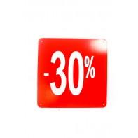 Reklamný pútač kocka -30 % - 10 ks