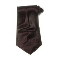 Kravata - bordová, čistá