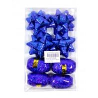 Darčekové ozdobyn - stuhy a hviezdy