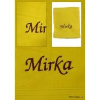 Uterák Mirka, 90x50cm, rôzne farby, PoloTrade