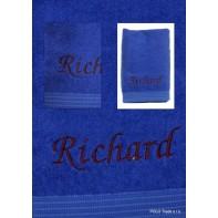 Osuška s menom Richard 70x130cm, PoloTrade