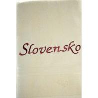 Osuška Slovensko - svetlohnedá, 70x140cm, PoloTrade