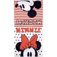 Plážová osuška Minnie a Mickey