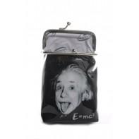 Peňaženka s klipom podlhovastá Einstein E=MC2