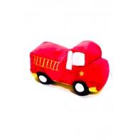 Plyšová hračka - požiarnické auto 25 cm