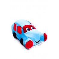 Plyšová hračka - modré auto 20 cm