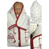 Detský fusak - zajac s dáždnikom