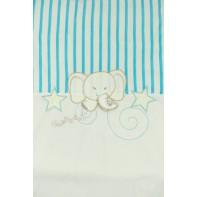 Detská deka sloník 90x90cm