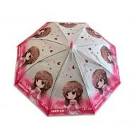 Dáždnik detský dievča s motýľmi 66cm
