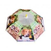 Dáždnik detský psík na deke 66cm