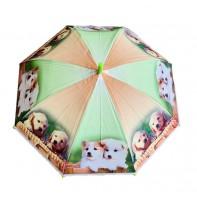 Dáždnik detský dvaja psíkovia 66cm