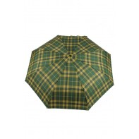 Automatický skladací dáždnik - káro, 25cm