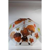 Detský dáždnik veverička 66cm