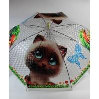 Detský dáždnik mačka hríbik 66cm