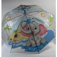 Detský dáždnik sloník 66cm