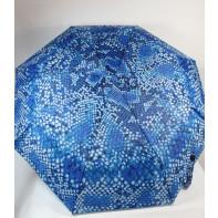 Dáždnik skladací bubliny modré