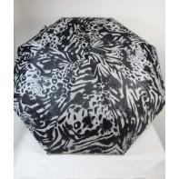Dáždnik skladací zebrový vzor