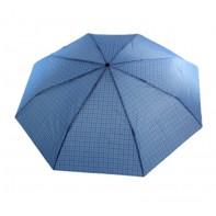 Skladací dáždnik károvaný