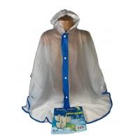 Detský pršíplašť - pončo transparentný, PoloTrade