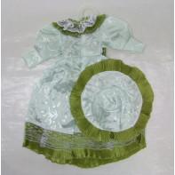 Šaty + klobúk pre bábiky, C-3-00235