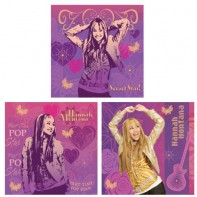 Hannah Montana samolepiaca dekorácia 3ks