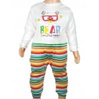1x Komplet bear/13770/medved okul, 102 - multifarebne farba, Veľkosť/rozmer/objem: 60 - 6m, 4-13770_10023169, 1x Komplet bear/13770/medve..., B4-13770