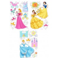 Princess samolepiaca dekorácia