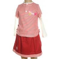 Detský komplet - sukňa s tričkom, 4-8323