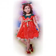 Detský kostým - jahôdka