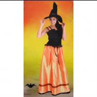 Dámsky kostým - čarodejnica