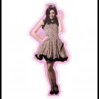 Dámsky kostým - leopardia žena