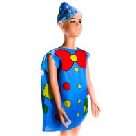 Detský modrý kostým šašo
