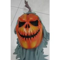 Maska Halloween-Tekvica oranžová, C-44-14010