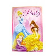 Pozvánka na párty Princess 5ks