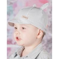 Chlapčenská čiapka so šiltom a uškami - WAKACJE