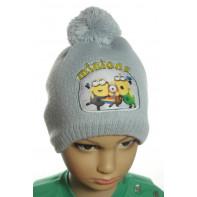 Chlapčenská pletená čiapka - Minions