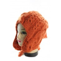 Čiapka dámska - pletená, C-5-JJ564