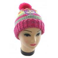 Detská čiapka s brmbolcom - Violetta