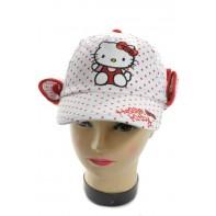 Hello Kitty šiltovka s ochranou na krk