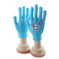 Dievčenské rukavice - kvietok