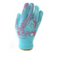 Dievčenské rukavice - dievča