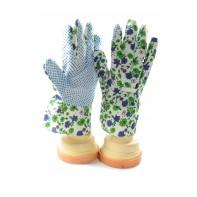 Dámske pracovné kvietkové rukavice