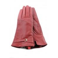 Dámske koženkové rukavice - pás